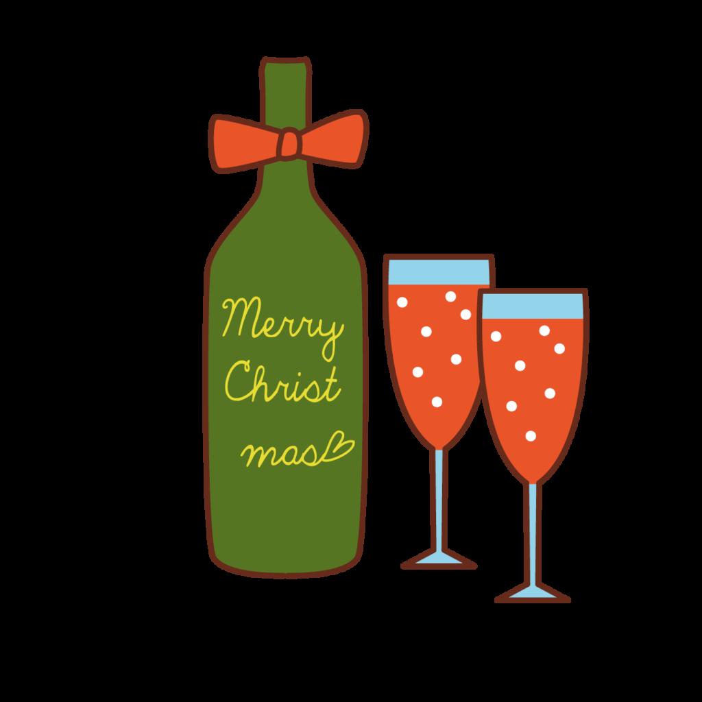 ルネス軽井沢のコテージでクリスマスプランの特典はワインのプレゼント