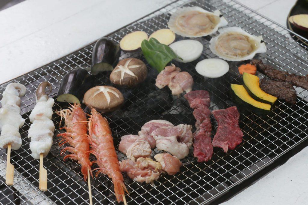 ルネス軽井沢のテラスでバーベキュー!食材はスペシャルで