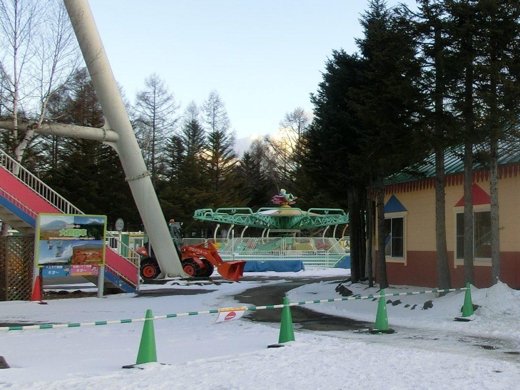冬の軽井沢おもちゃ王国