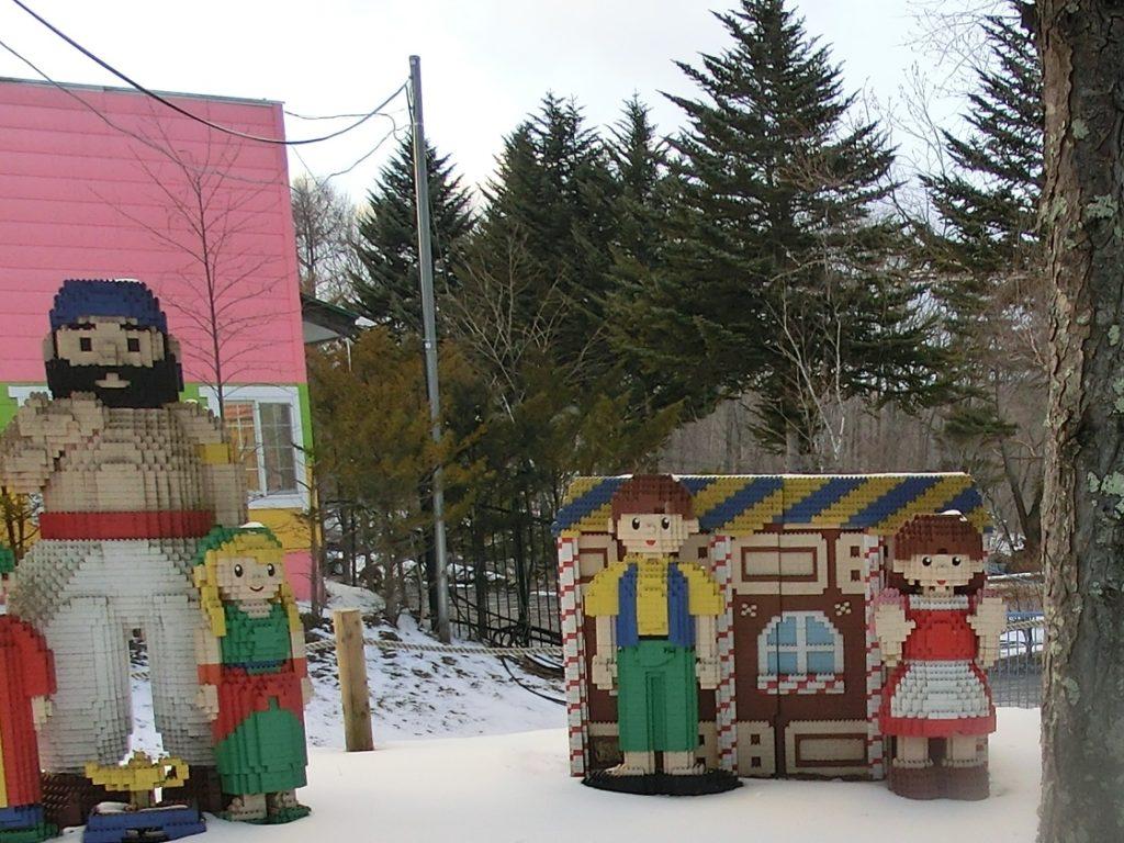 軽井沢おもちゃ王国の冬の状況
