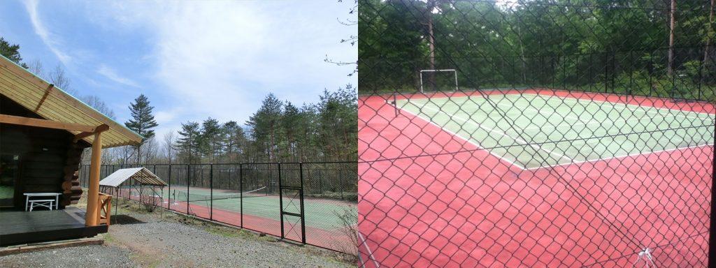 マイトンエリアのテニスコート