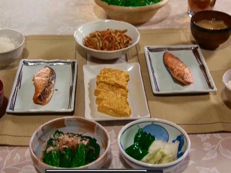ルネス軽井沢のコテージが、ドラマで使われた時の朝食メニュー