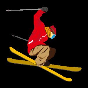 本格的に滑れるスキー場