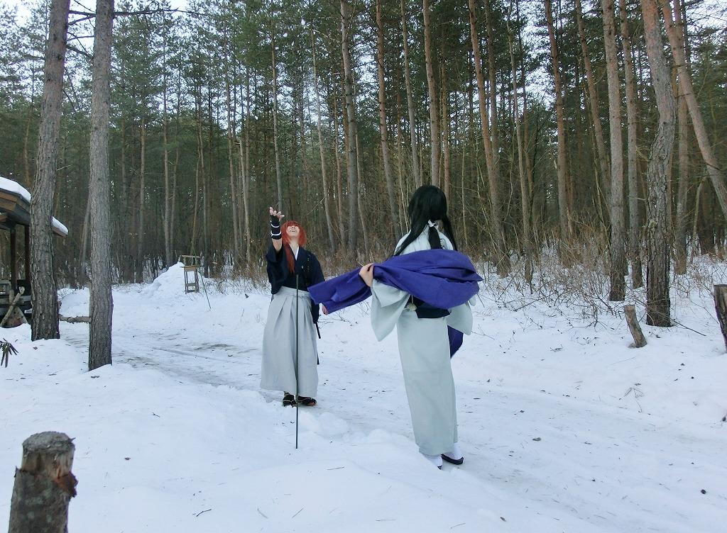 コスプレ衣装が生えるマイトンエリアの雪