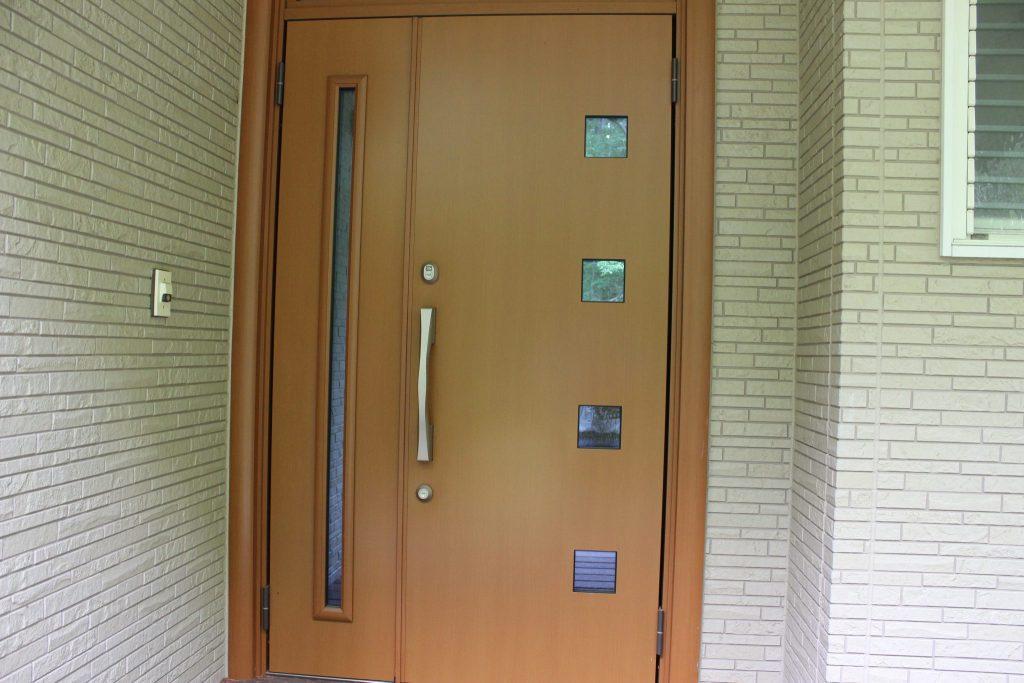 オーロラの玄関です。