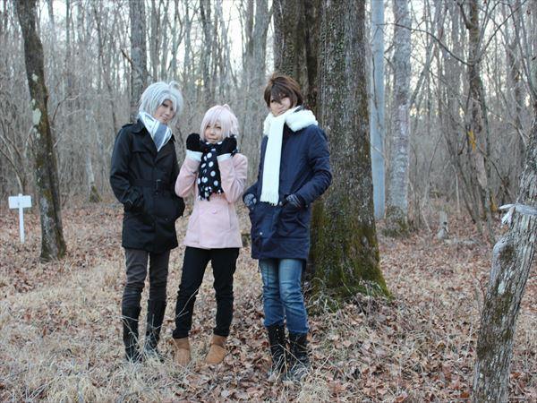 アリエッティの裏の林で撮影