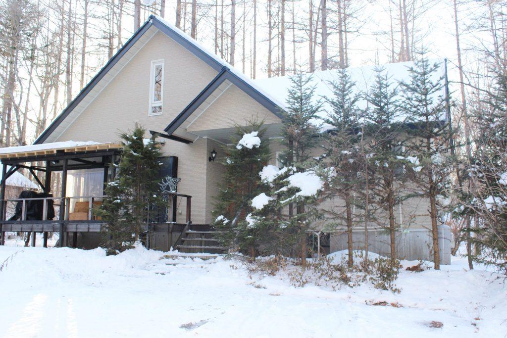 冬も宿泊可能の高級コテージ「オーロラ」