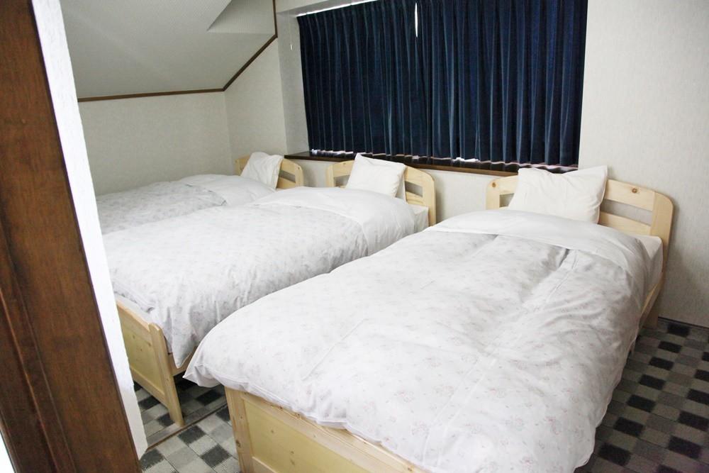 翠苑の3台のベッドルーム