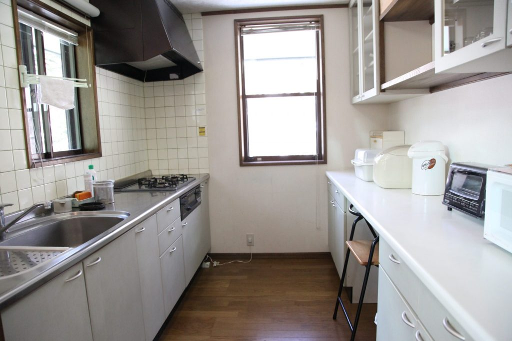翠苑のキッチン