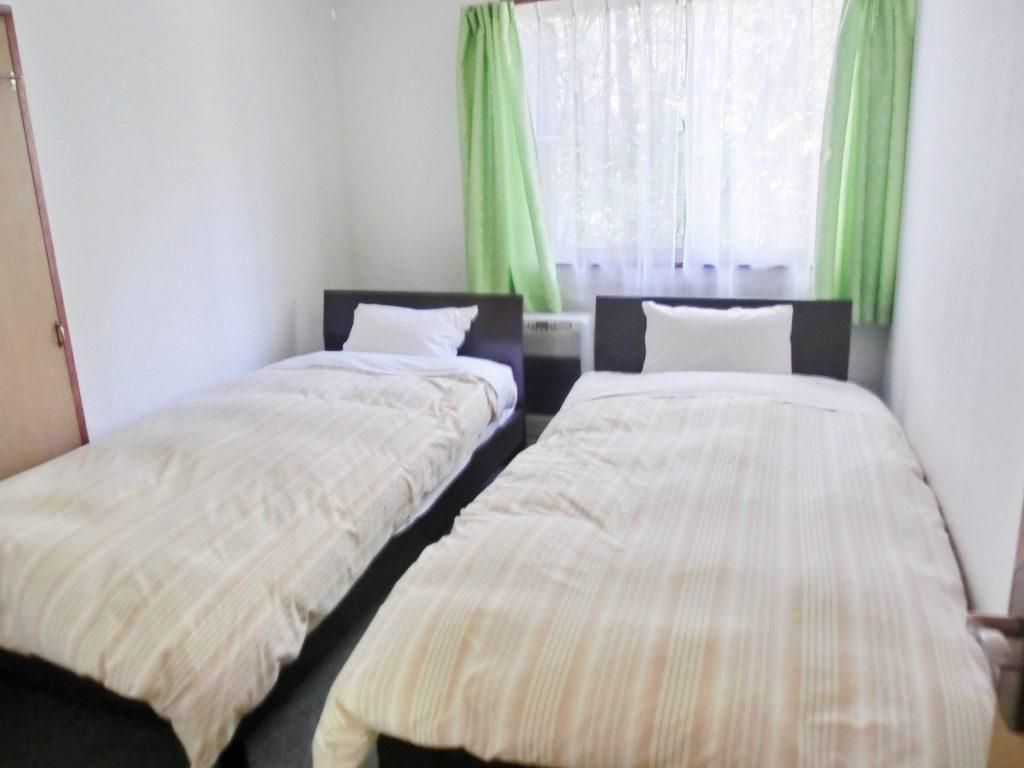 ルネス軽井沢のcottage「オーロラ」のベッドルーム