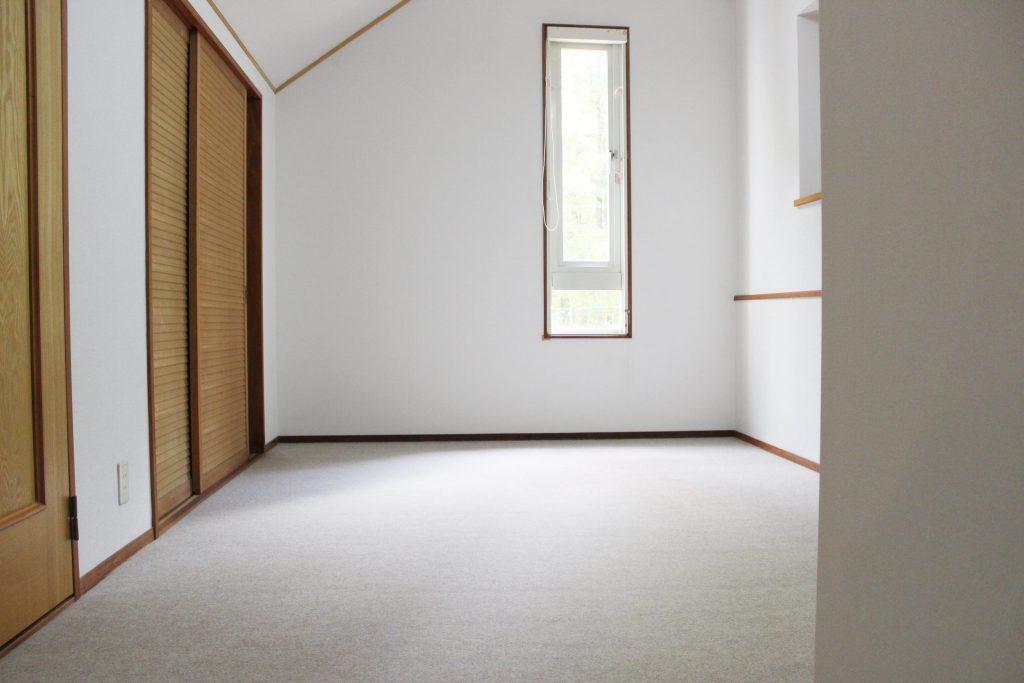 ロイヤルスィート「オーロラ」の2階3名用寝室