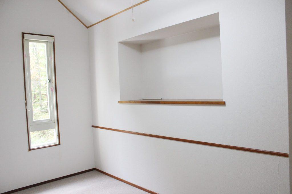 ロイヤルスィート「オーロラ」の2階袋棚