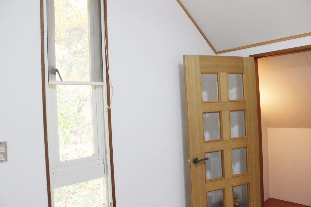 ロイヤルスィート「オーロラ」の2階ドア