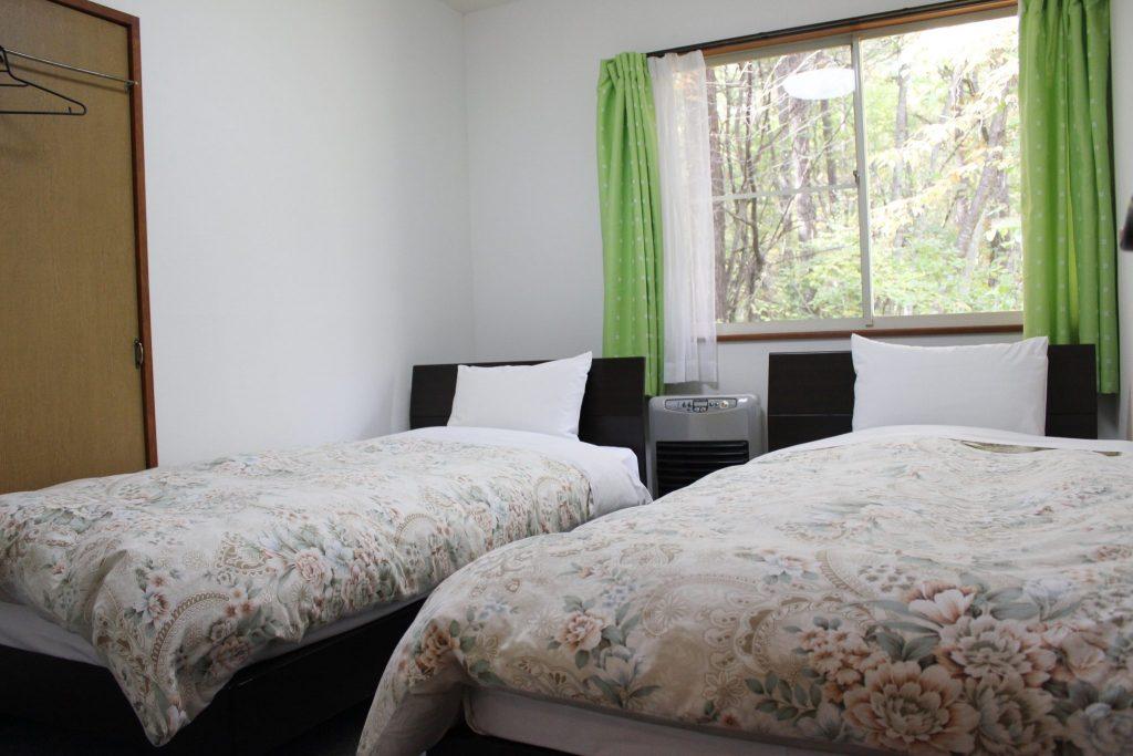 ロイヤルスィート「オーロラ」のベッドルーム