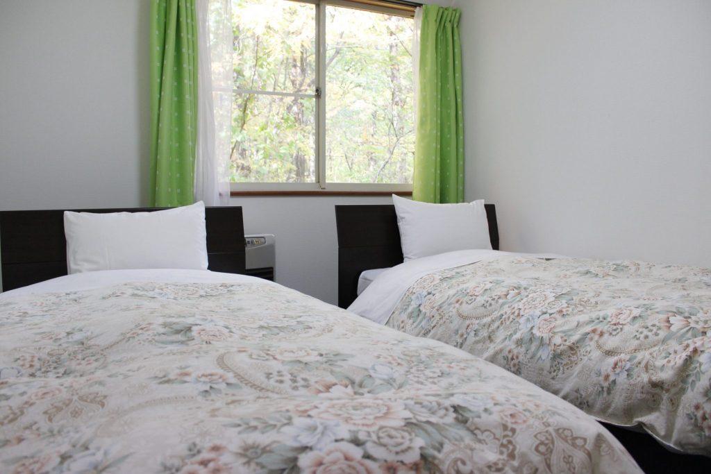 オーロラのベッドルーム