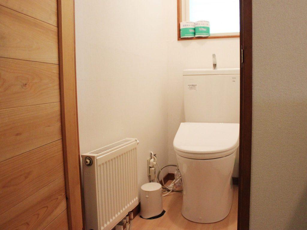 オーロラのトイレ