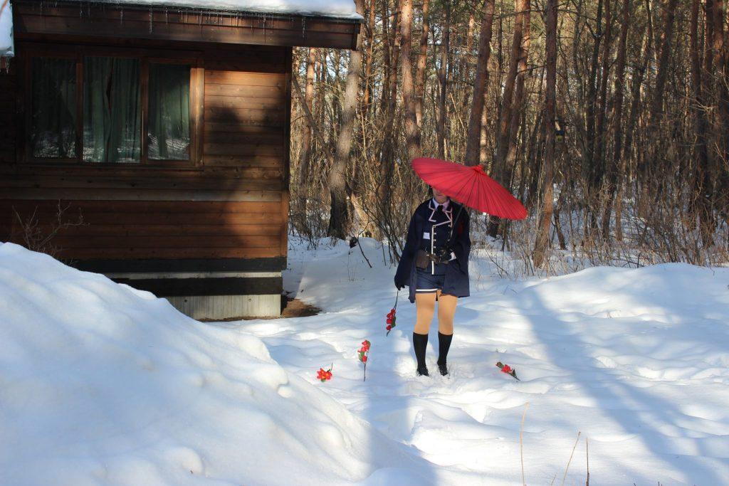 ルネス軽井沢のログスィート「カール」宿泊のコスプレイヤーさん