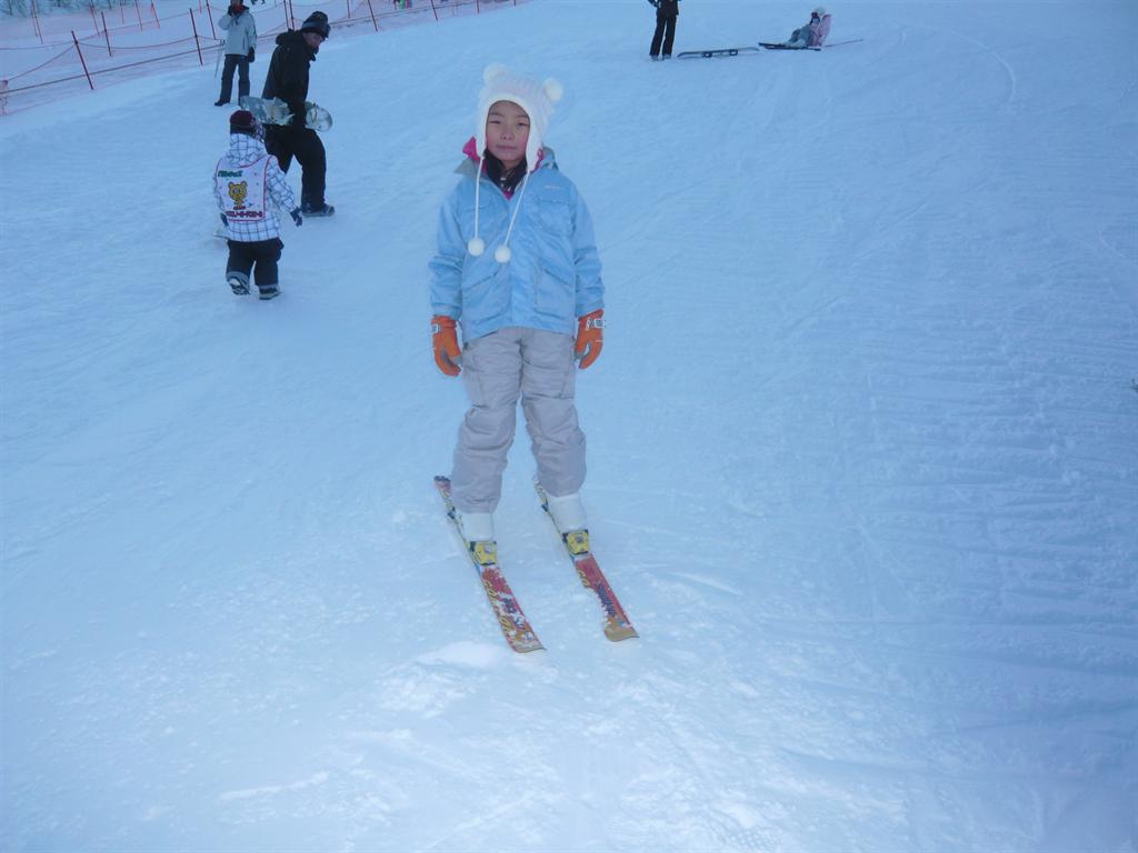パルコールつま恋はスキーデビューの子供も楽しめる