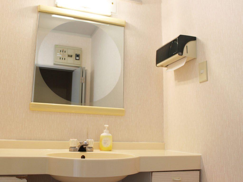 ロイヤルタイプコテージ「エクセル」の洗面所