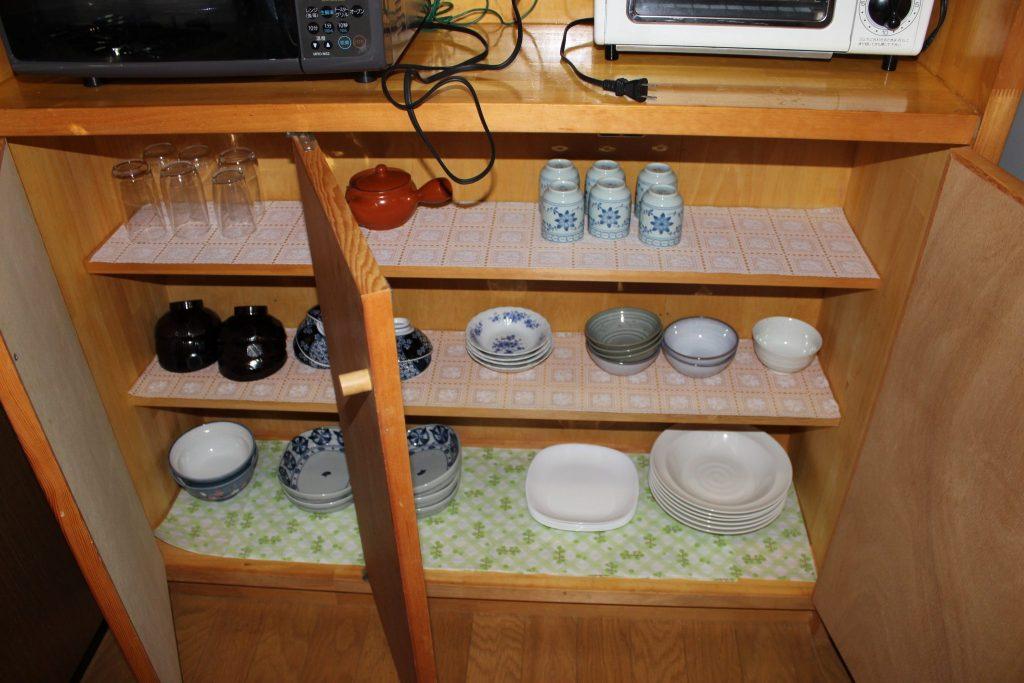 アリエッティのキッチン棚