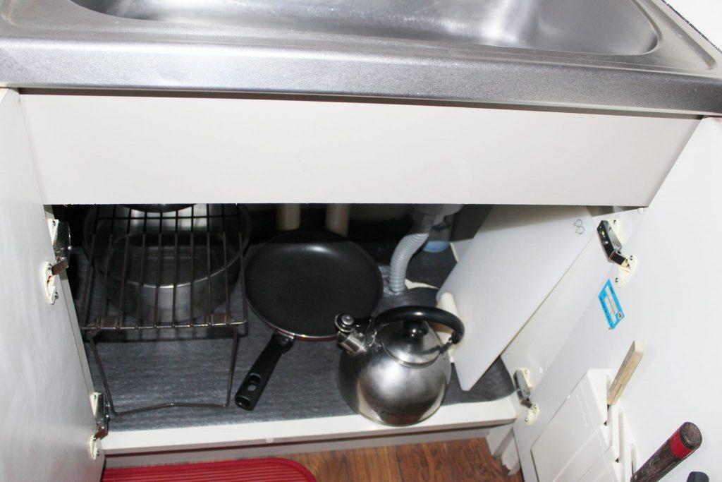 ロイヤルコテージ「エクセル」のキッチン内部