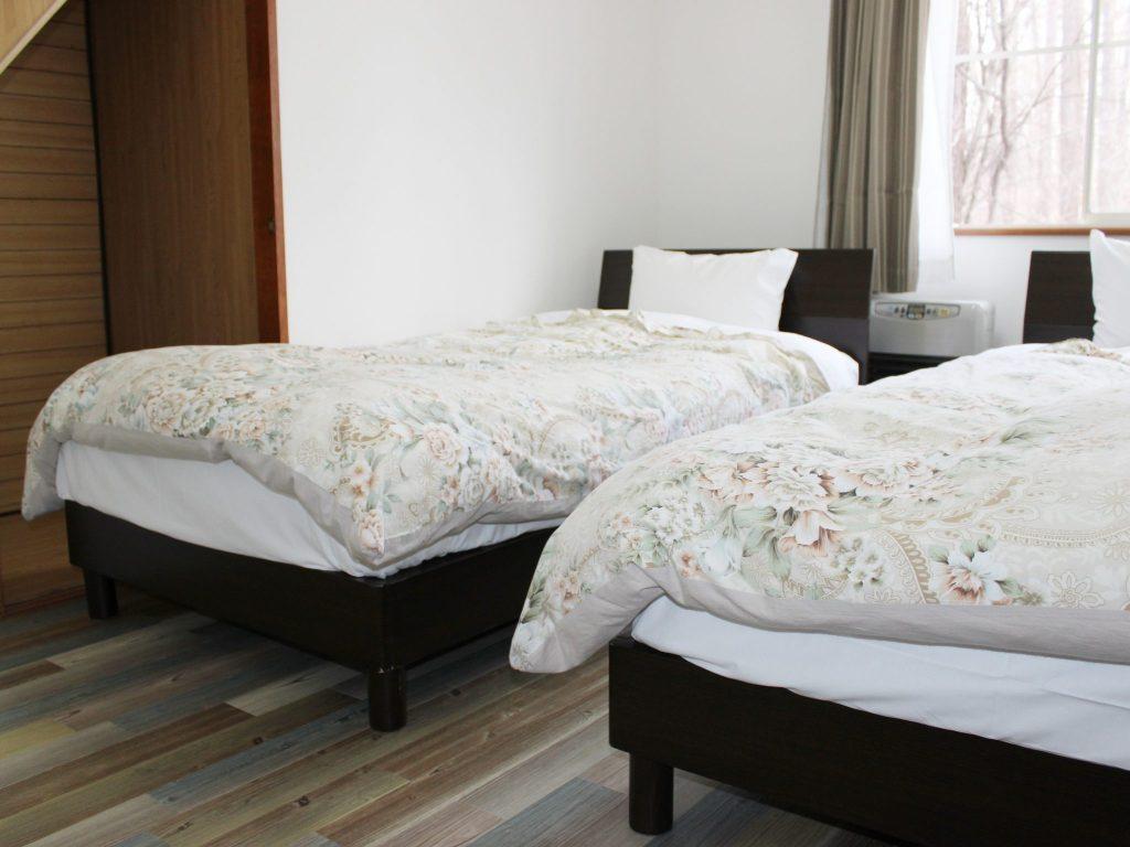 ロイヤルスィートタイプ「オーロラ」のベッドルーム