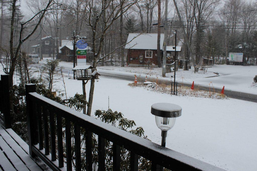 2018年春分の日の大雪