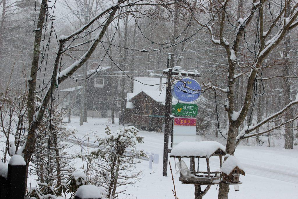 2018年3月21日春分の日の関東地方全体が雪