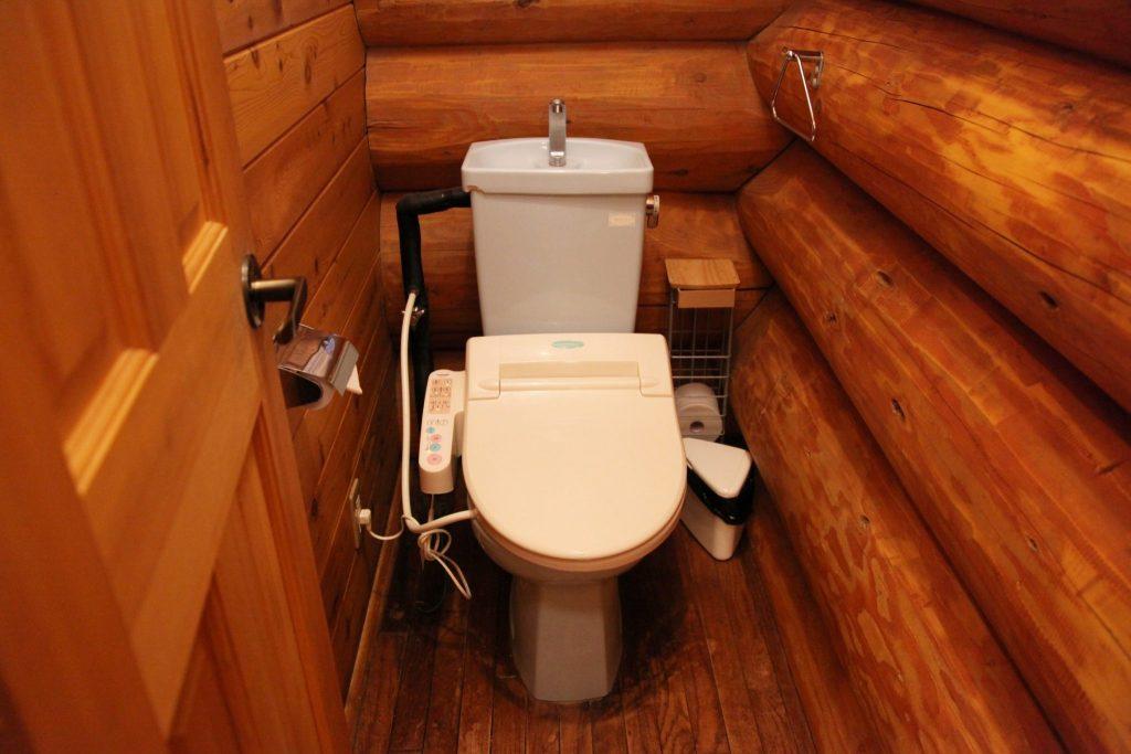 グレースのトイレ