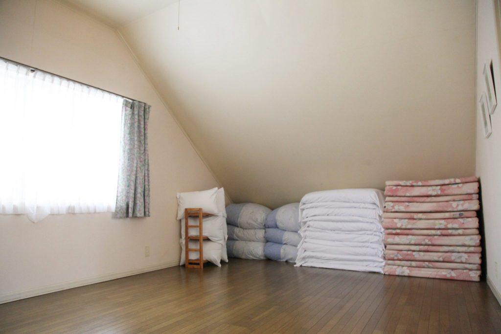 エクセルの2階の洋寝室