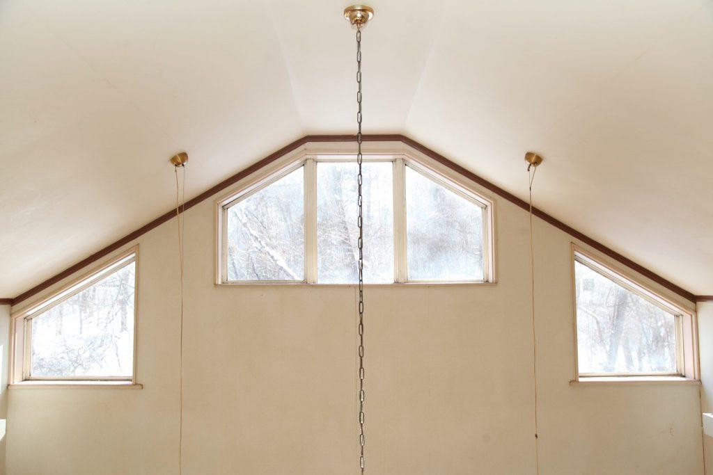 エクセルの吹き抜けの天井