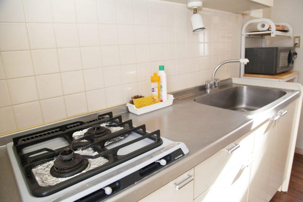 ロイヤルコテージ「エクセル」のキッチン