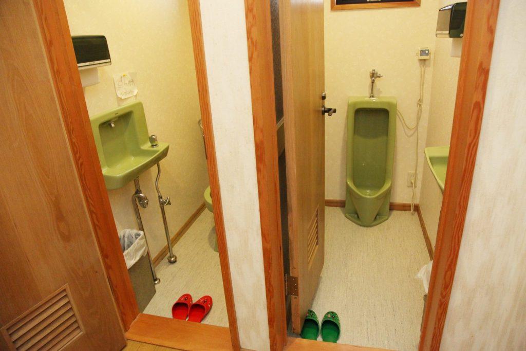 しおん星のトイレ