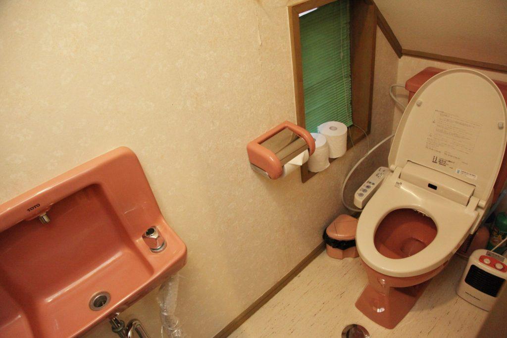 しおん虹の女子用トイレ