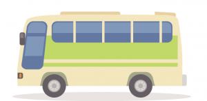 浅間高原のバスでのアクセス