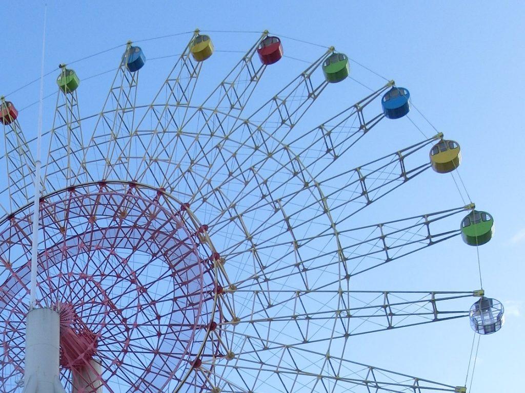 軽井沢おもちゃ王国の大観覧車
