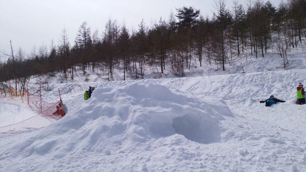 パルコール嬬恋リゾートの雪