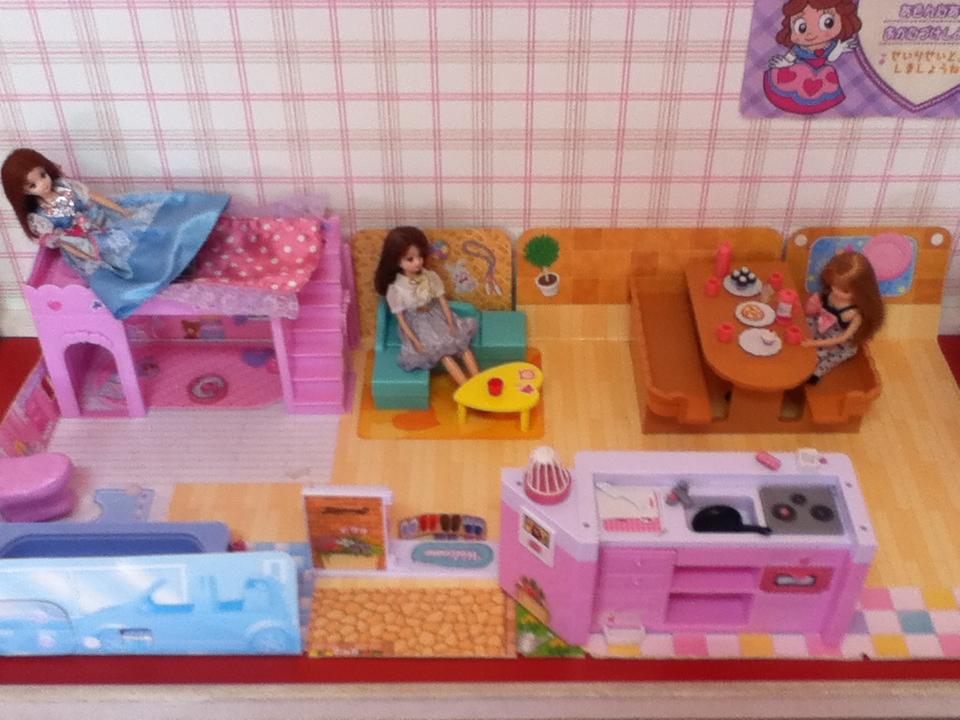軽井沢おもちゃ王国のリカちゃん人形
