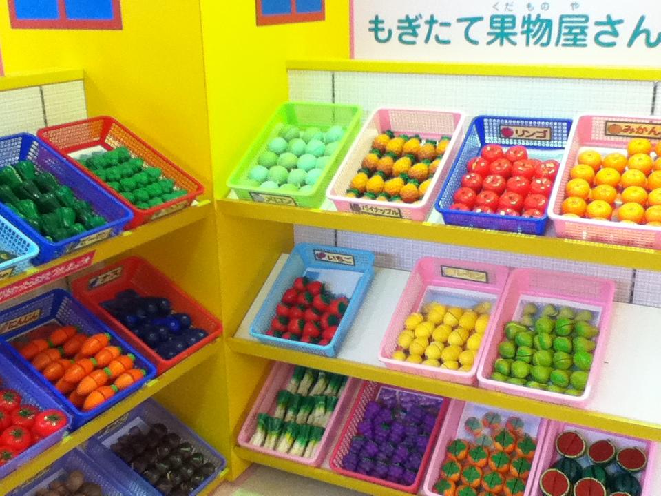 軽井沢おもちゃ王国のおままごとコーナー