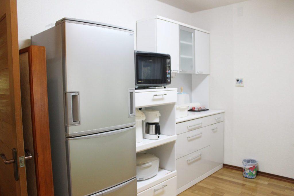 別荘「オーロラ」の冷蔵庫