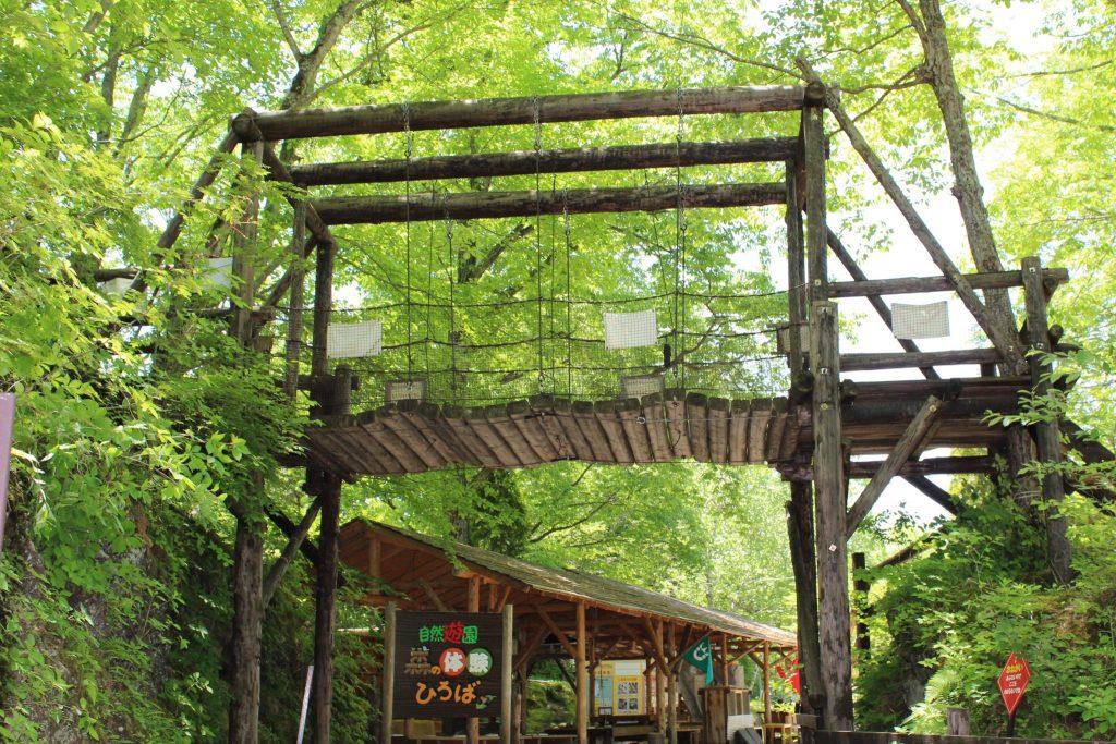 軽井沢おもちゃ王国のワクワク大冒険の森