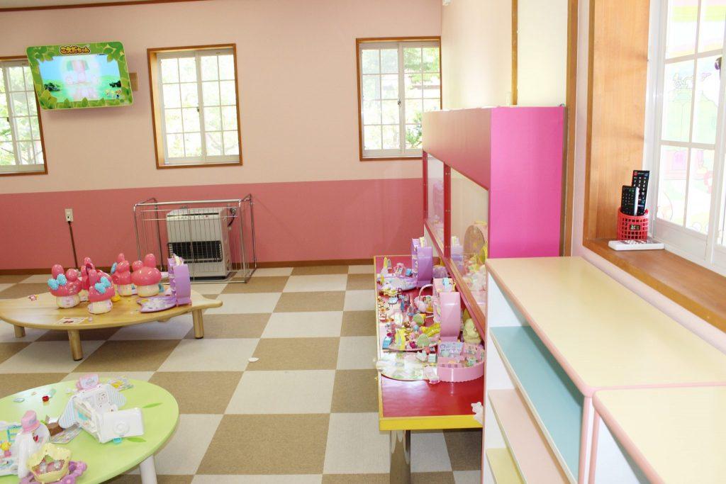 軽井沢おもちゃ王国のこえだちゃんのお家