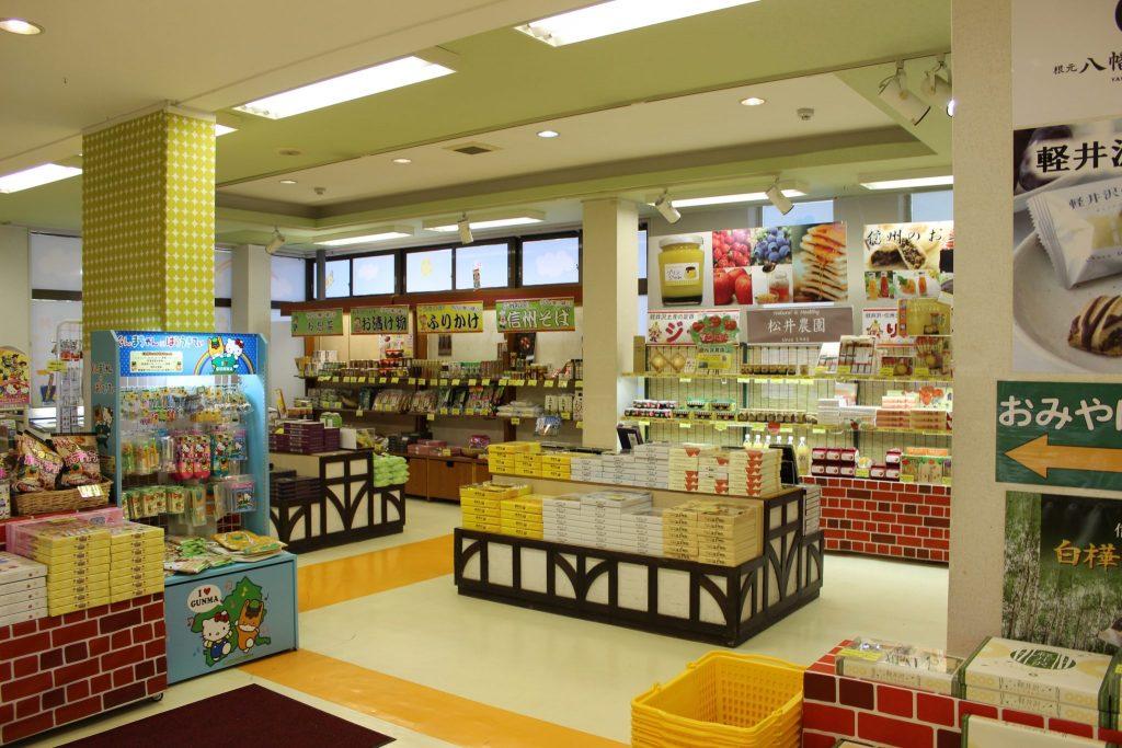 軽井沢おもちゃ王国のお土産コーナー