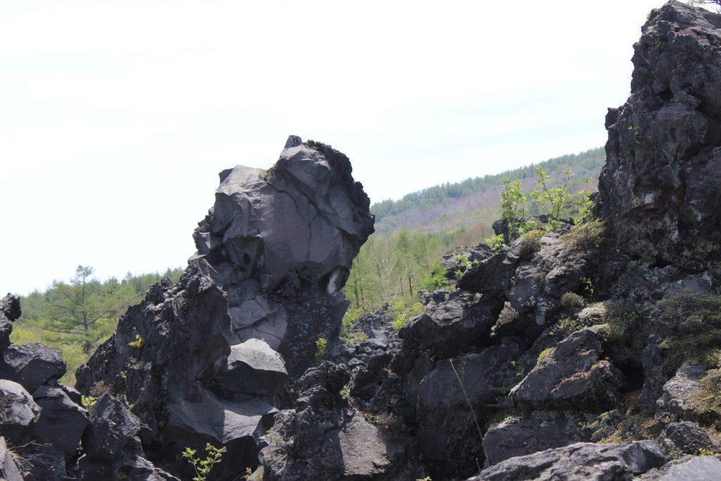 鬼押し出し園 溶岩石