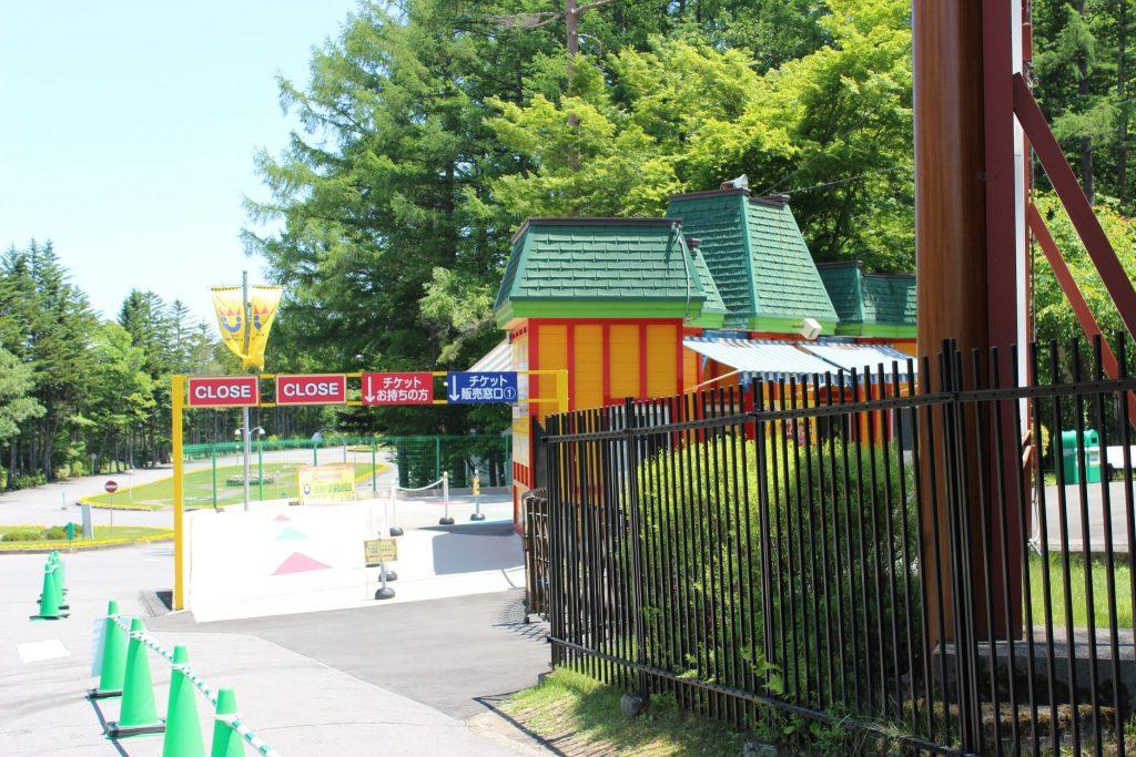 軽井沢おもちゃ王国のチケット売り場