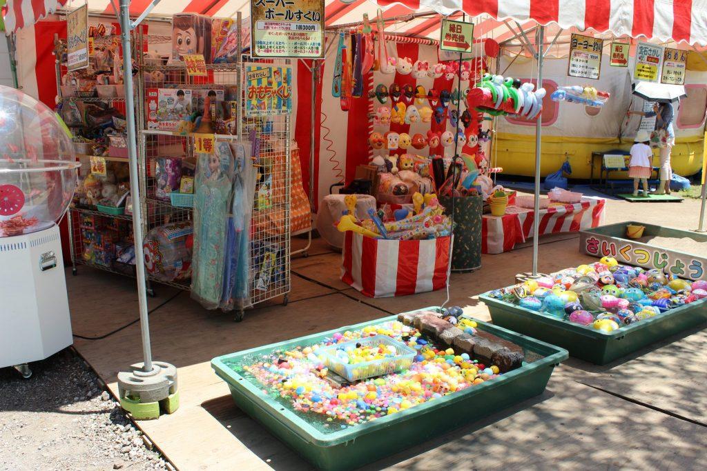 軽井沢おもちゃ王国の縁日