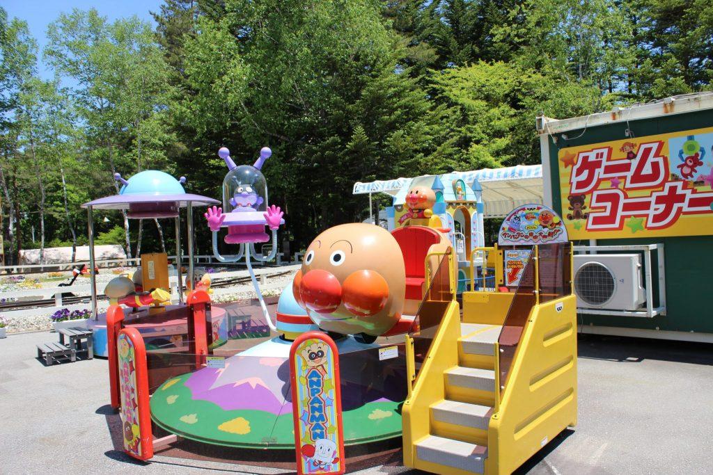 軽井沢おもちゃ王国のゲームコーナー