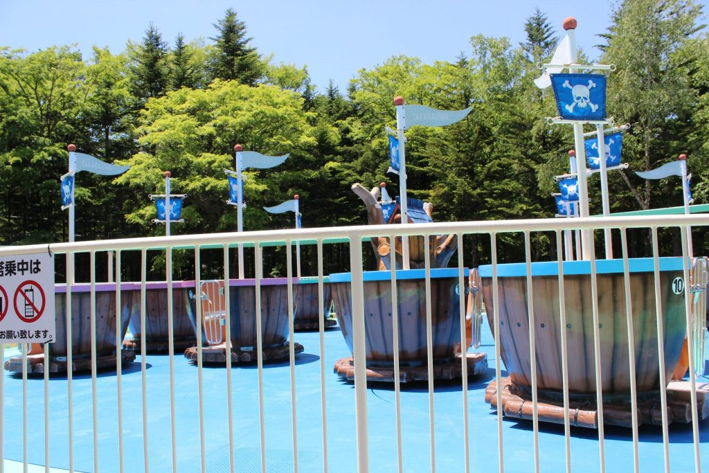 軽井沢おもちゃ王国のチビッコ宝島