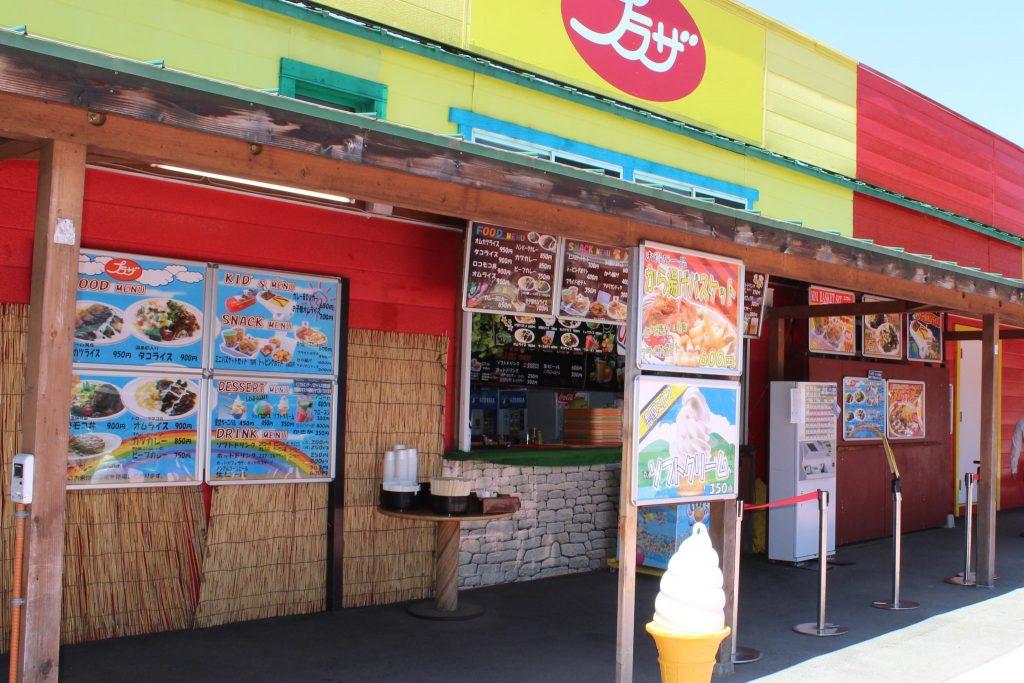 軽井沢おもちゃ王国の飲食店プラザ
