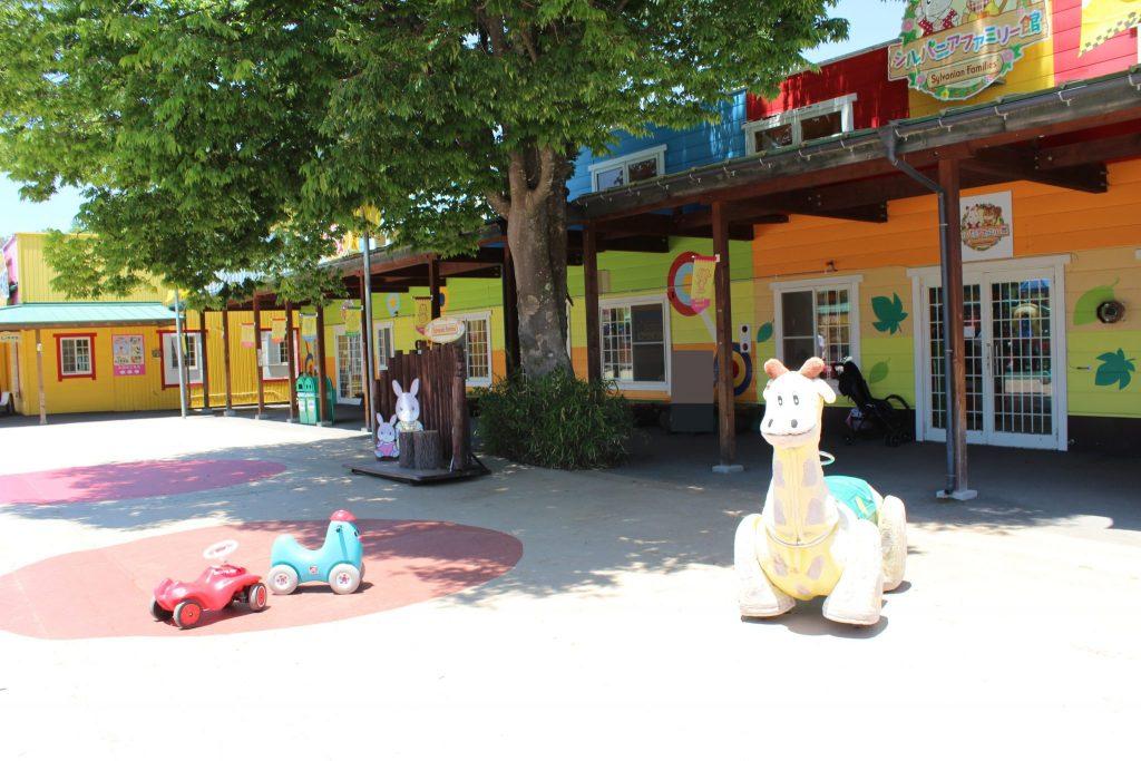 軽井沢おもちゃ王国のキッズ広場